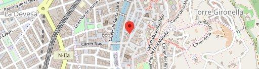 B12 Restaurant Bar Vegà en el mapa