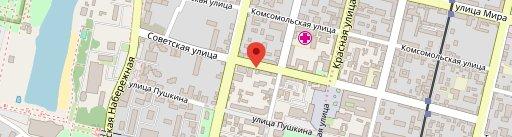 Balkan Gril' en el mapa