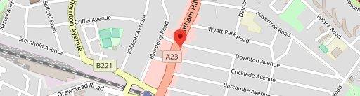 Bar 61 на карте