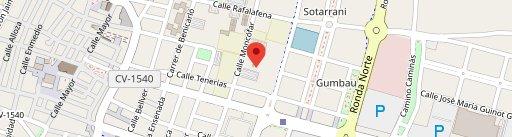 Bar Alonso en el mapa