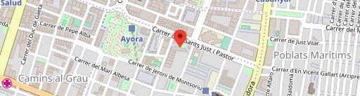 Bar Cafeteria ARCO Valencia en el mapa