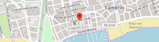 Bar Del Pòsit en el mapa