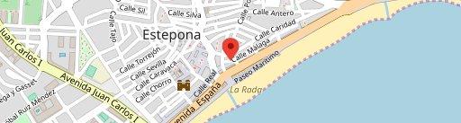 El Caliente Cafe - Bar en el mapa