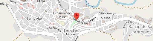 Bar La Gaviota en el mapa