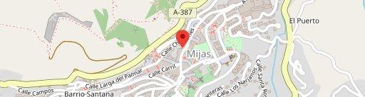 Bar La Martina en el mapa