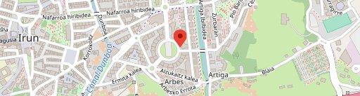 RESTAURANTE IZKIRA en el mapa
