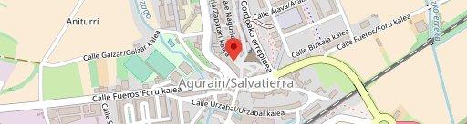 Bar Mendibil en el mapa