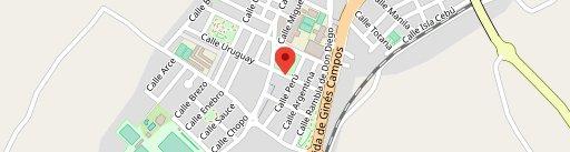 Bar Restaurante Álvaro en el mapa