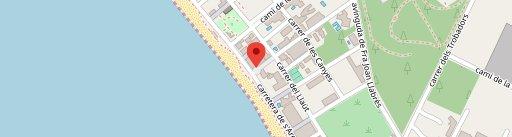 Linos Grand Café en el mapa