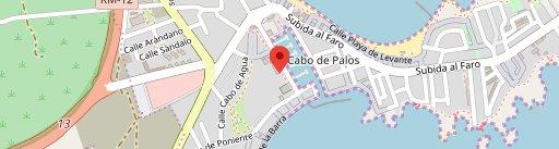 RESTAURANTE BAR BARAKA en el mapa