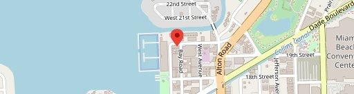Barceloneta on map