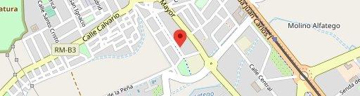 El Barrilero de Jose en el mapa