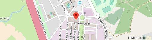 Be Happy Madrid en el mapa