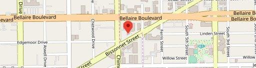 Bellaire Coffee Shop en el mapa