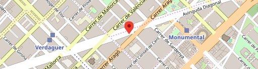 Bicos on map