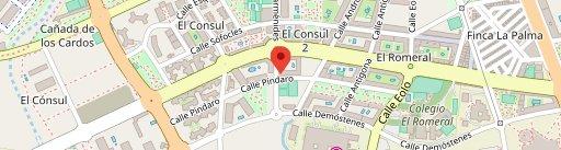 Restaurante en Malaga Bienmesabe en el mapa