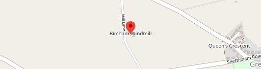 Bircham Windmill on map