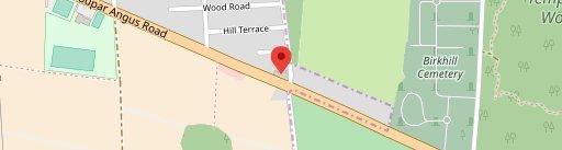 Birkhill Inn en el mapa