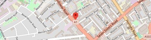 Bisha on map