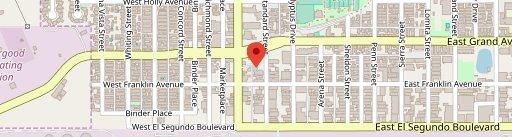 Blimpie on map