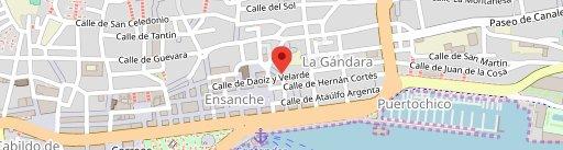 Bodega Cigaleña en el mapa