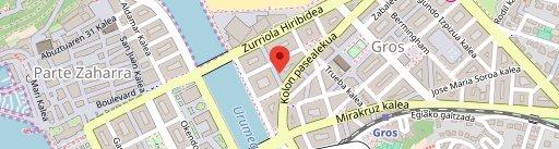 Bodega Donostiarra en el mapa