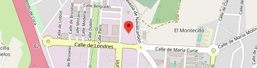 Bodega Urbana, Las Rozas en el mapa