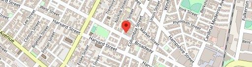 Bondir on map