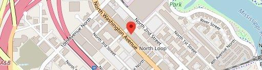 Borough on map