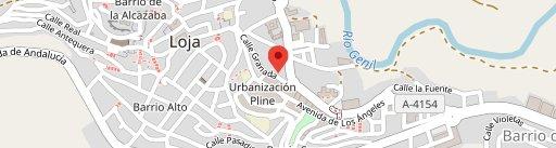 Boulangerie Los Arcos en el mapa