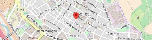 Braseria Ripollet en el mapa