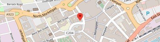 BrewDog Dundee en el mapa