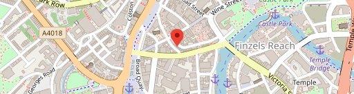 Brozen Bar - Bristol on map
