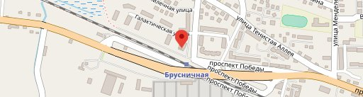 Brusnichka pizzeria en el mapa