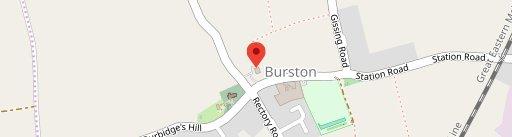 Burston Crown on map