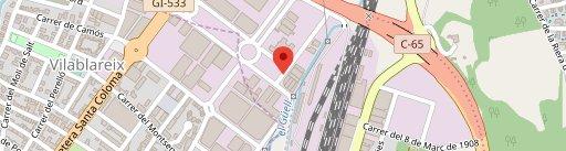 Restaurant Ca l'Esteve en el mapa