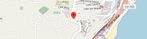 Ca Mezquida on map