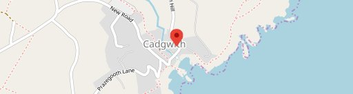 Cadgwith Cove Inn on map
