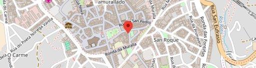 Café Celta en el mapa