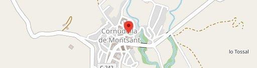 Café de la Plaza en el mapa