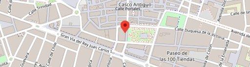 Café Delicias en el mapa