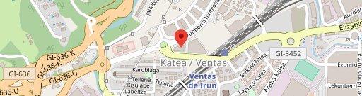Cafe Irun en el mapa
