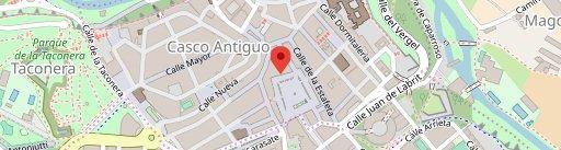 Café Iruña en el mapa