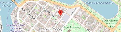 Кафе Панда на карте