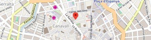 Cafè Riutort en el mapa