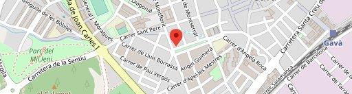 Cafè Teatre en el mapa