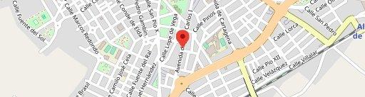 """Cafeteria """" Bar La Viña """" en el mapa"""