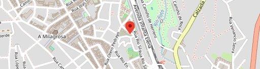 Cafeteria Rio Sil en el mapa