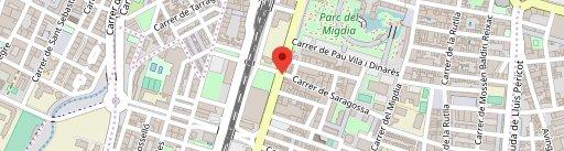 Cafeteria El Racó d'Epi i Blas en el mapa