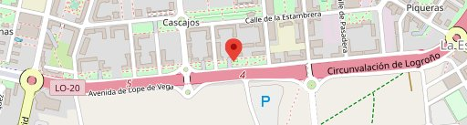 Cafetería Restaurante Mercedes en el mapa